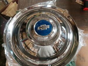 1954 16 Chevy Truck Accessory Hubcaps New Old Stock Set Of 4
