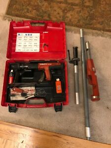 Hilti Dx 351 Powder Actuated Tool With Extension Pole X pt351 Available 10 Units