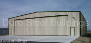 Durobeam Steel 75x75x20 Metal Clear Span Airplane Hanger Storage Building Direct