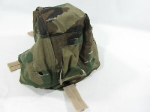 Authentic Military ACH Reversible Helmet Cover Woodland & Desert Camouflage