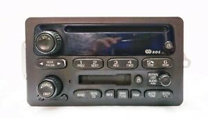 03 Chevrolet Monte Carlo Used Oem Radio Am Fm Cassette Cd Stereo gm 10317994