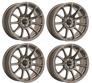Drag Dr 66 Wheels 15x7 5 4x100 Rally Bronze Rims Set Of 4 For Fit Civic Integra