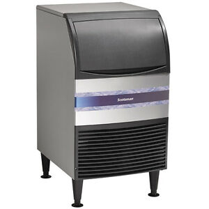 20 Restaurant Bar 100 Lb Medium Cube Undercounter Commercial Ice Maker Machine