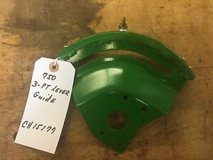 John Deere 750 Tractor 3 point Lever Guide