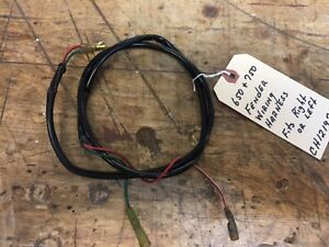 John Deere 650 750 Tractor Rear Fender Lights Wiring Harness fits Left