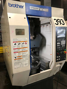 Brother Speedio M140 X1 5 axis Cnc Drilling Tapping Center