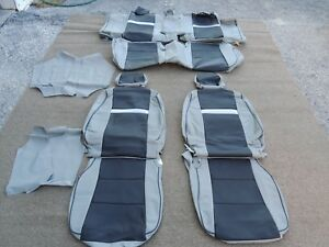 Leather Seat Covers Interior Katzkin Fits Toyota Camry 2012 2014 Grey Blowout
