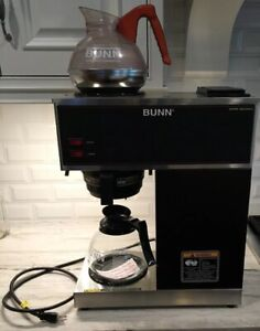 Bunn Commercial Coffee Maker Vpr Black Series two Hot Plate warmers