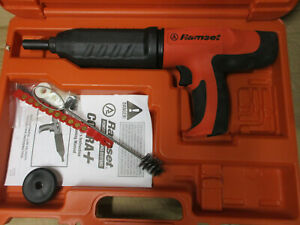 Ramset Cobra Plus Caliber Semi Auto Powder Actuated Fastening Tool W Case