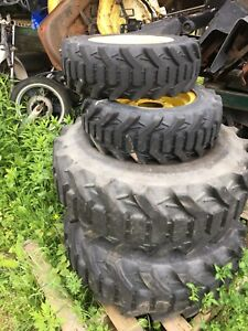 John Deere Front 25x8 50 14 Rear 15 19 5 Wheels Tires Tractor 30 Series 3020 R4