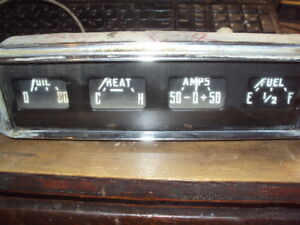 Early Dodge Truck Gauge Panel Dash Insert Old Cluster Rare Nice