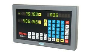 2 Axis D60 2v Display To Replace Your Acu rite anilam Display W 6 Or 9 Pin Plug