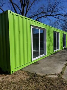 Shipping Container Office 40 Ft Custom Doors