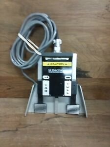 Ethicon Ultracision 606 ex Electrosurgical Footswitch 4 pin