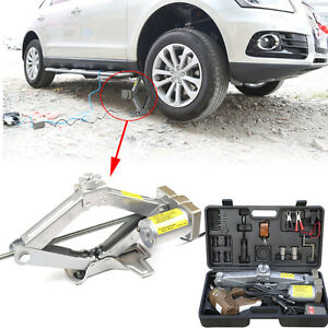 5 Ton Wireless Remote Control Electric Car Suv Hydraulic Floor Jack Lift Case