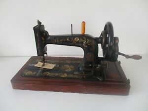 Early 1900 Model Singer 48k Ottoman Hand Crank Sewing Machine P359900
