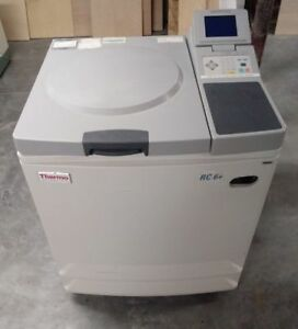 Thermo Scientific Sorvall Rc 6 Plus Centrifuge With 3 Rotors And Warranty