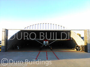 Durospan Steel 50x70x17 Metal Building Kit Diy Airplane Hanger Open Ends Direct