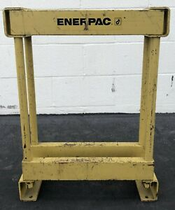 Enerpac H frame Bench Press 16 High By 15 Long Internal Dimension Industrial