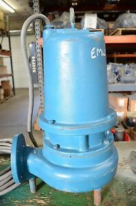 Goulds Submersible Sewage Pump 3 Hp 230v Single Phase Ws3012d3