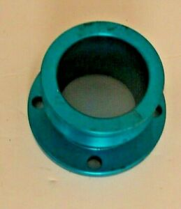 79 95 Mustang Billet Aluminum Performance 3 Race Crank Pulley Blue
