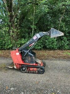 Toro Dingo Walk Behind Mini Skid Steer Quick Attach Bucket And Aux Hydrualics