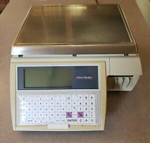 Used Avery Berkel Label Printing Scale