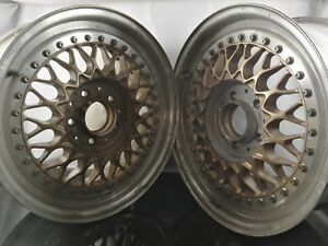 Bbs Rs Gold Edition 16x7 Et35 5x112 Wheels Alloy