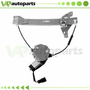 For 2006 2015 Chevy Impala 35l 39l Power Window Regulator Rear Left With Motor