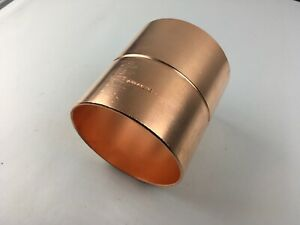 Streamline 4 Inch C X C Copper Coupling Fitting With Rolled Stop