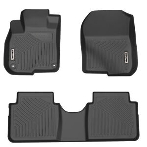 Oedro Floor Mats Fit For 2017 2019 Honda Crv Unique Black Tpe Full Set Liners