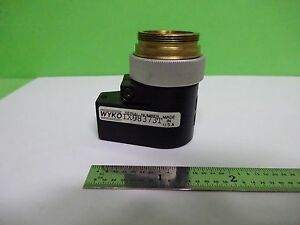 Dektak Veeco Wyko Profilometer Objective Nikon 1x5 Optics As Is Bin x5 b 50