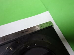Microscope Part Leica Germany Dmr Dmrb Stage Specimen Table As Is Bin 5m b 02