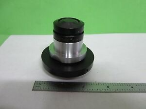 Microscope Part Objective Tiyoda Uv Ultraviolet Optics As Is S9 41
