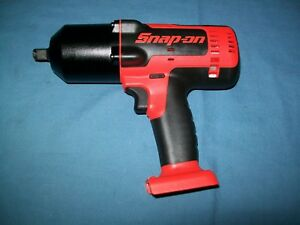 New Snap On Lithium Ion Ct8850odb 18v 18 Volt Cordless 1 2 Impact Wrench Gun