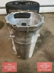 Cadillac Escalade 6l80 Transmission Case Housing Oem 2007 2008