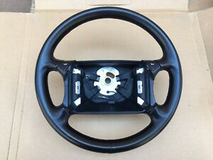 Porsche 944 Turbo 944s2 968 Steering Wheel Black Genuine New