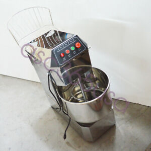 30qt Stainless Steel Double Action Double Speed Dough Mixer Mixing Machine 110v