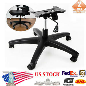 New 331lbs Black 28 Inch Office Chair Base 5pcs Wheel Casters 60mm Chairs