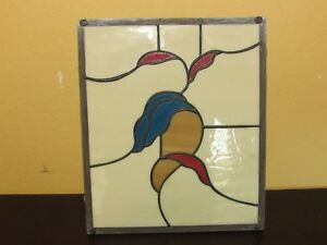 Stain Glass Window Panel Country Coach Rv Cabinet Door Insert 9 3 4 X 13 3 4