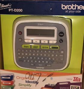 Brand New Label Maker Brother P touch Home And Office Labeling pt d200