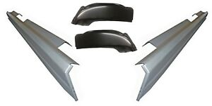 2001 07 Chevy Silverado Sierra 4dr Crew Cab Rocker Panels And Cab Corners Kit