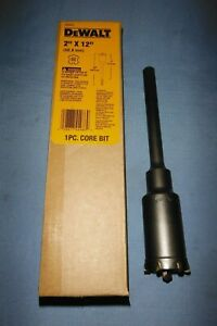 Dewalt 2 X 12 Sds max 1 Pc Core Bit Dw5916