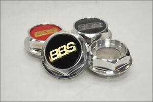 Bbs Rs 197 198 Hex Nuts Rc Center Caps 17 Inch Large Thread 2 76in
