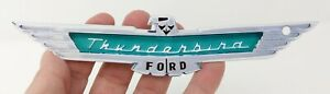 1957 Ford Thunderbird Emblem Badge Heavy Duty Large Steel Metal Sign 7 X 1 5