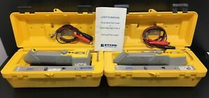 Lot Of 2 Rycom 8850 Pipe And Cable Locator Pathfinder Ii untested