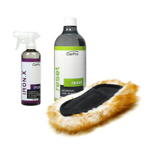 Carpro Iron X Reset Car Wash Decontamination Kit With Koala Mitt Cp 15 31 cmb