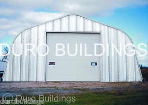 Durospan Steel 25x40x14 Metal Garage Storage Building Workshop Factory Direct