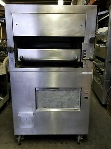 Southbend 170 Upright Infrared Gas Salamander Broiler 34 Single Deck Steak