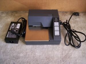 Epson Tm u295 292 Slip Printer With Power Supply Serial M66sa Guaranteed